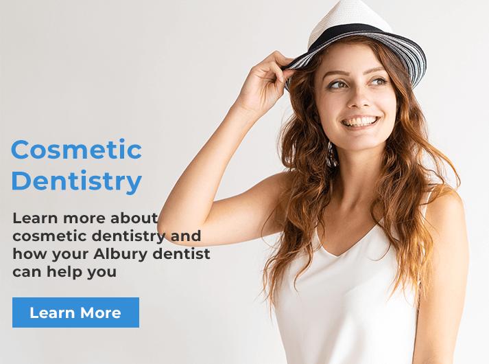 cosmetic dentistry banner albury