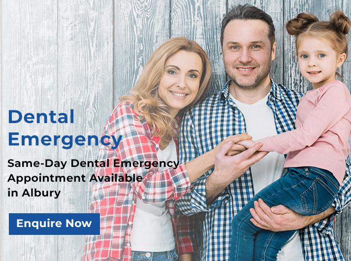 dental emergency banner albury