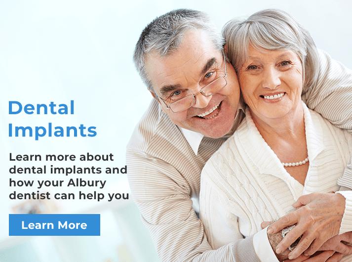 dental implants banner albury