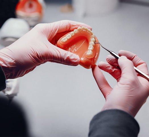 denture-making procedure albury