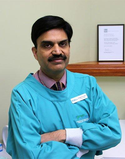 meet dr vinayak chowdhry dentist albury