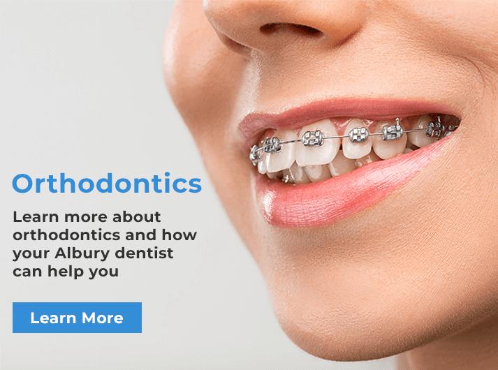 orthodontics banner albury
