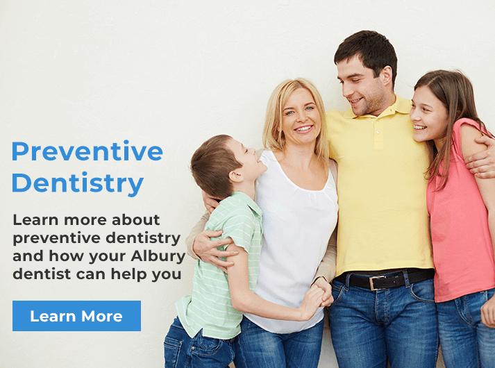 preventive dentistry banner albury